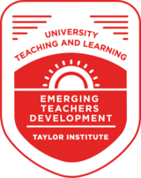 Emerging Teachers Development Badge