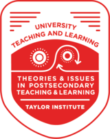Theories and Issues in Postsecondary Learning and Teaching
